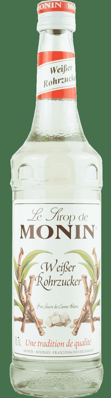Monin Sirup Weißer Rohrzucker 0,7l