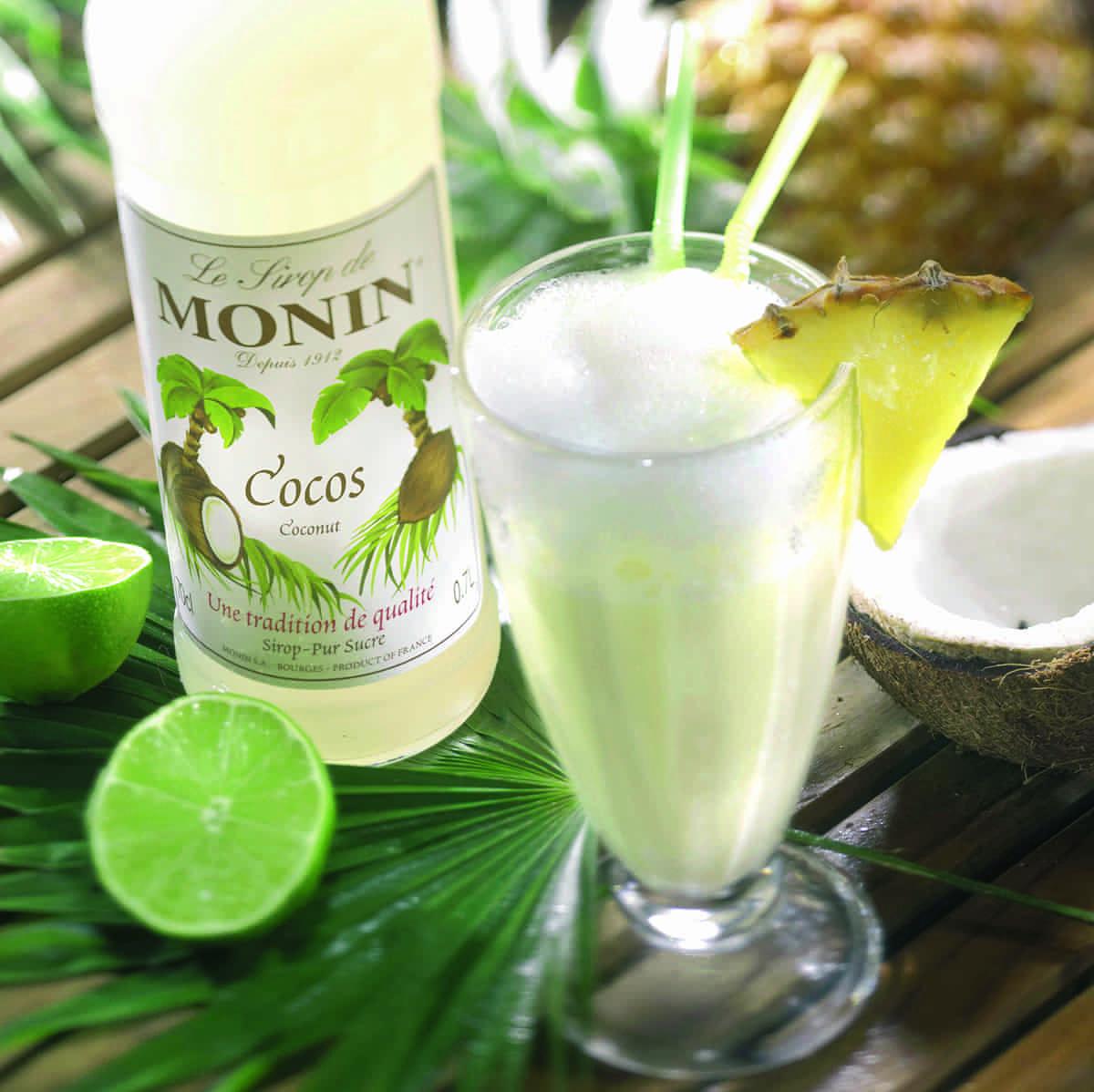 Monin Sirup Cocos Noix de Coco 0,7l Kokosnuss