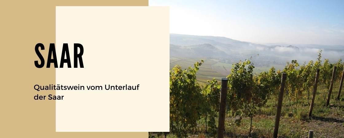 Weinanbaugebiet Saar in Deutschland