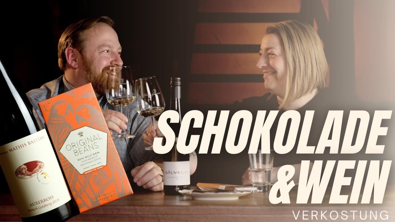 Wein & Schokolade Paket 1 mit Video zur Verkostung