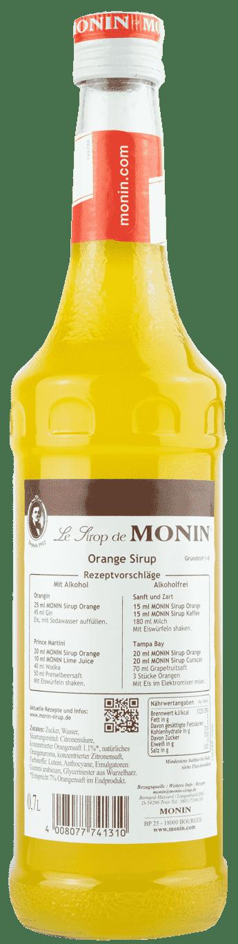 Monin Sirup Orange 0,7l
