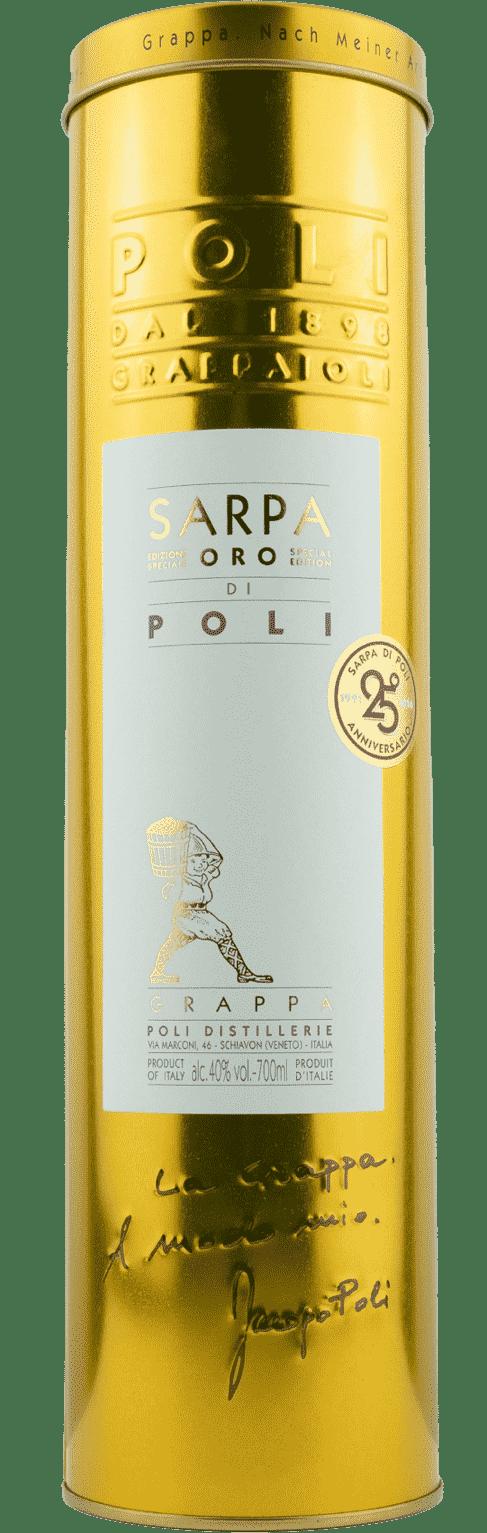 Grappa Sarpa ORO di Poli 40%