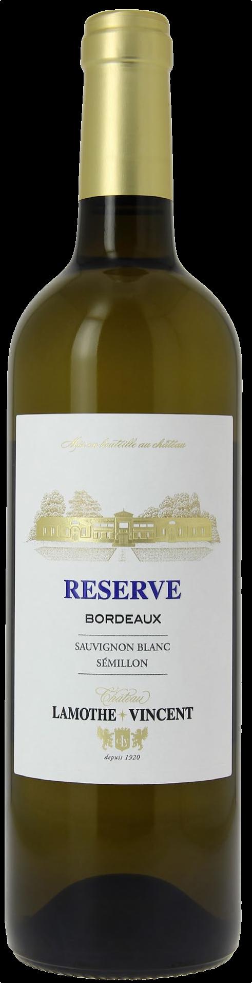 Château Lamothe Vincent Reserve Sauvignon Blanc 2019