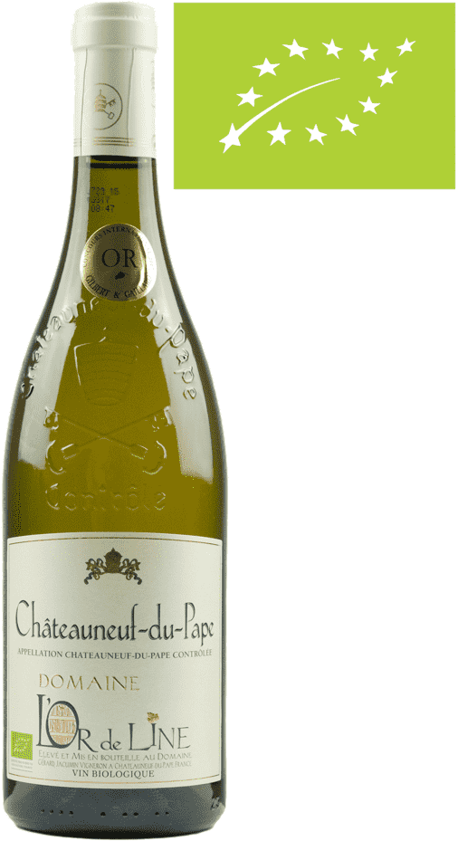 Chateauneuf du Pape Blanc L´Or de Line Bio