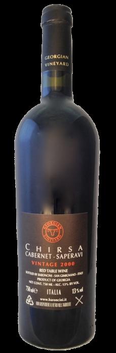 Chirsa Georgian Vineyards 2000