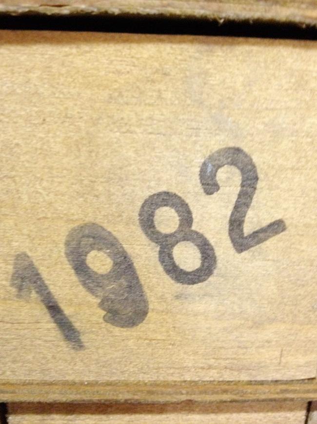 Bodegas del Señorio Martinez Gutierrez Gran Parlet 1980