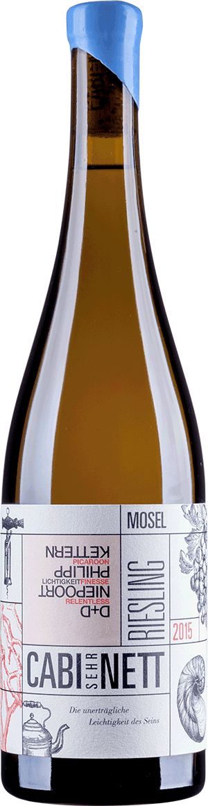 FIO Wines CABIsehrNETT Riesling Mosel 2015