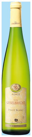 Gisselbrecht Pinot Blanc AC Medaille d'Or 2018