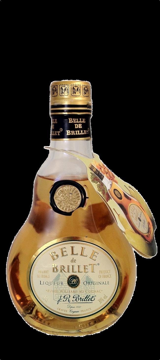 Cognac Brillet Belle de Brillet Classique 0.35 Ltr. Cognac mit Birne