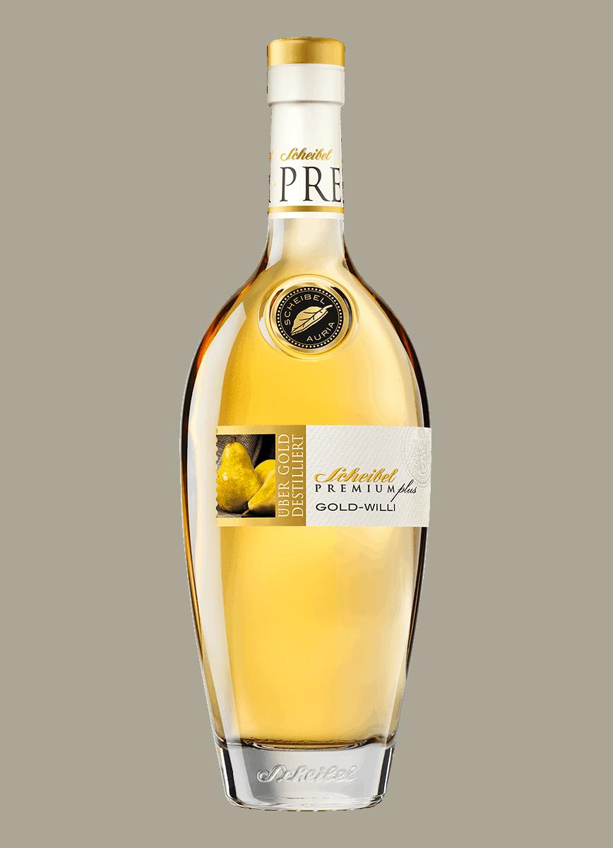 Brennerei Scheibel Premium Plus Gold-Willi 0,70 l 40%