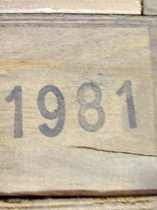 Bodegas del Señorio Martinez Gutierrez Gran Paulet 1981