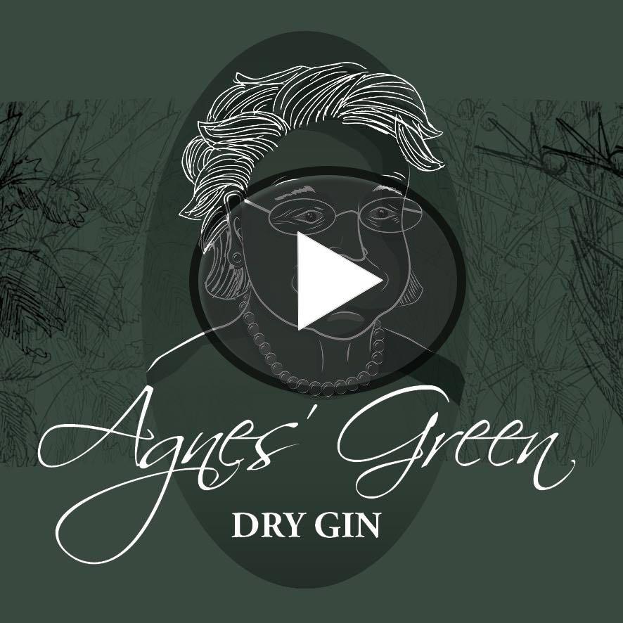 Saar Brennerei Penth Agnes-Green Dry Gin Mini 5cl BIO