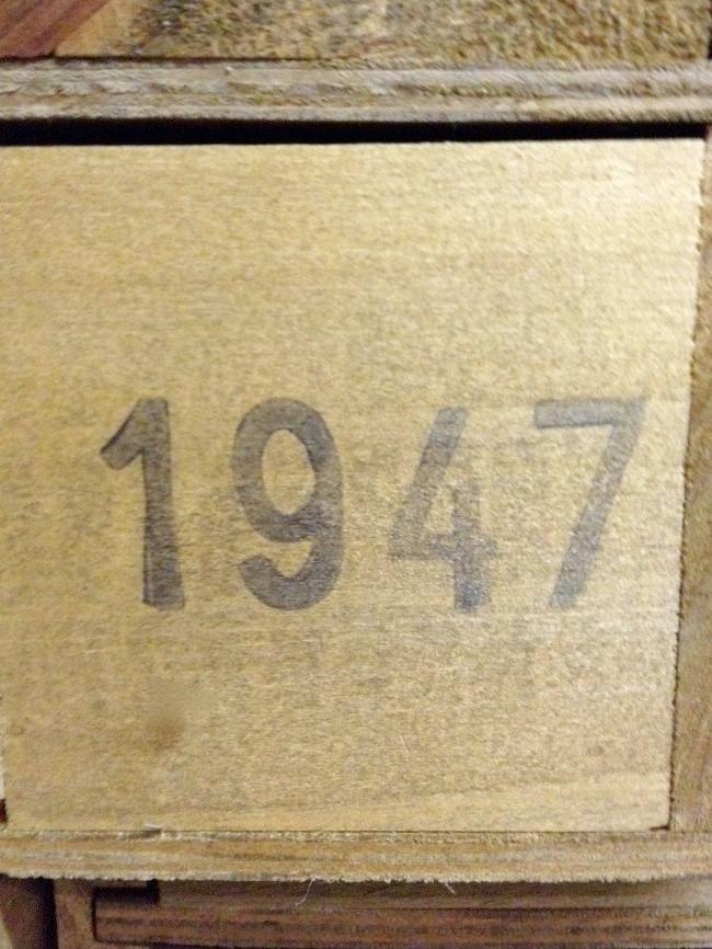 Bodegas del Señorio Martinez Gutierrez Gran Paulet 1947