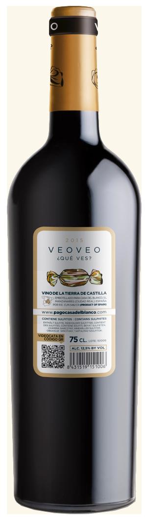 VeoVeo Tinto VT Castilla 2019 Pago Casa del Blanco
