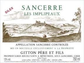 Gitton Sancerre Les Implipeaux Silex 2019