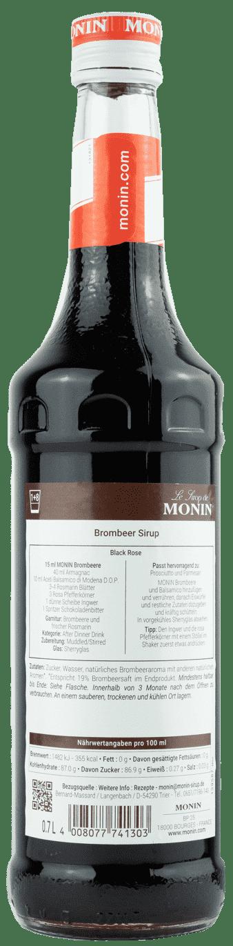 Monin Sirup Brombeere 0,7l Brombeer