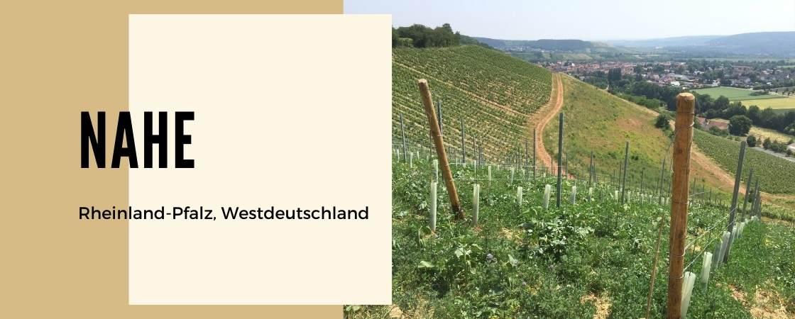 Weinanbaugebiet Nahe in Deutschland