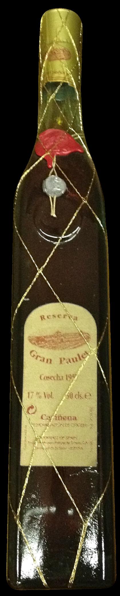 Bodegas del Señorio Martinez Gutierrez Gran Parlet 1970