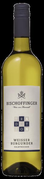 Bischoffinger Weisser Burgunder Tradition halbtrocken 2019