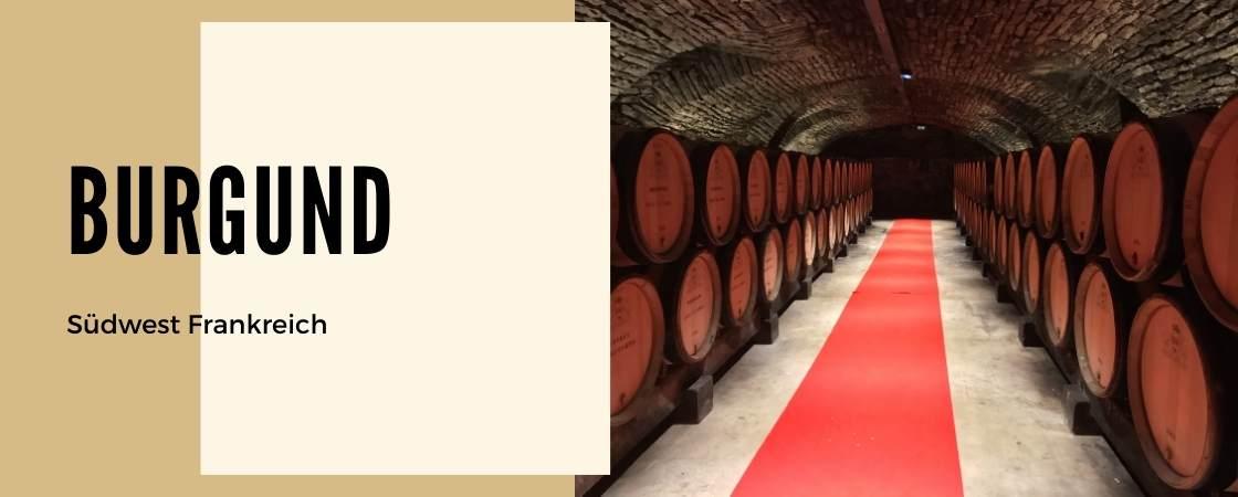 Weinanbaugebiet Burgund Frankreich