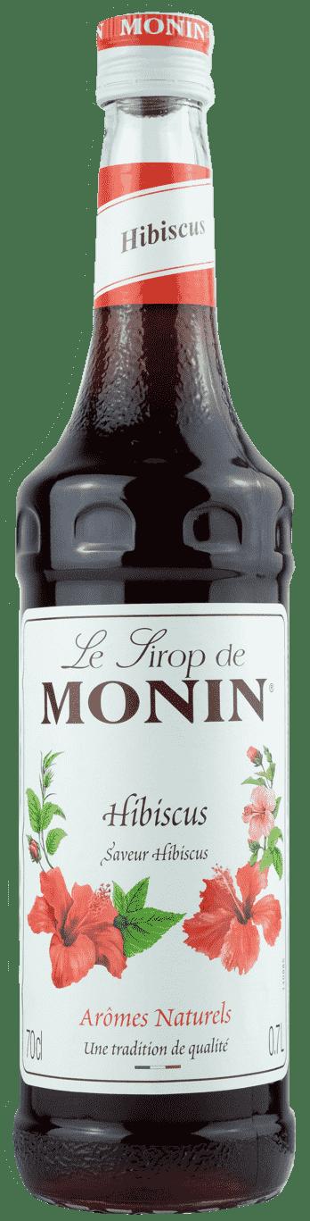 Monin Sirup Hibiscus 0,7l  Hibiskusblüte