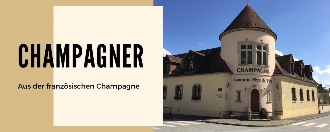 Weinanbaugebiet Champagne in Frankreich