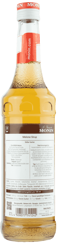 Monin Sirup Melone  0,7l