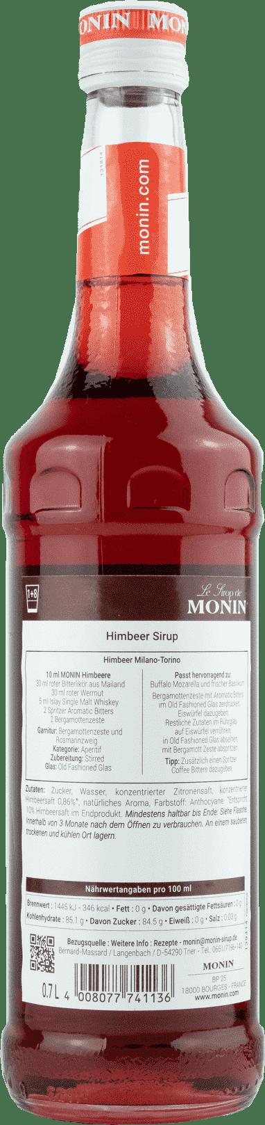 Monin Sirup Himbeere 0,7l