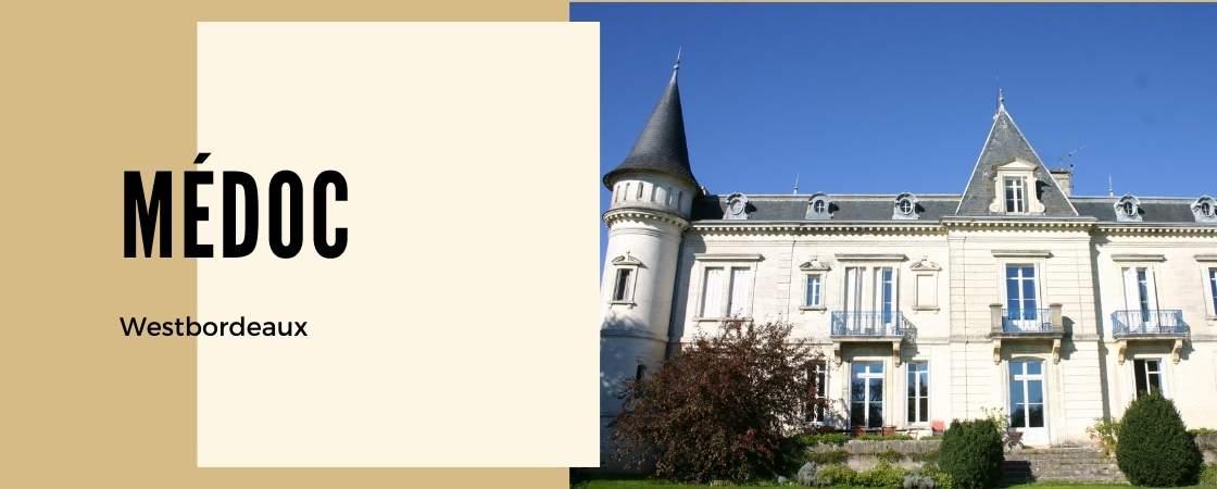 Weinanbaugebiet Médoc in Frankreich