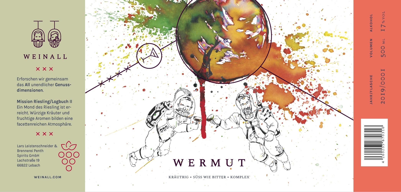 Weinall Wermut Mission Riesling Logbuch II