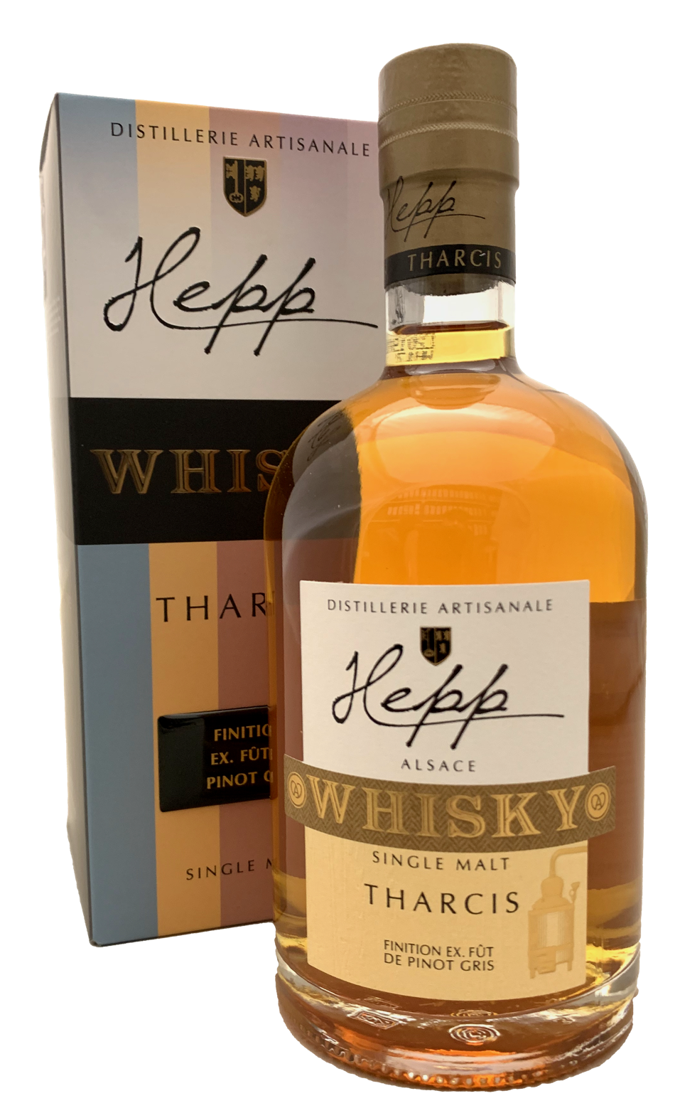 Distillerie Hepp Finition Pinot Gris Single Malt Whisky Alsacien