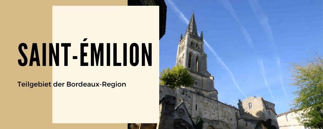 Saint-Émilion Weinanbaugebiet Frankreich