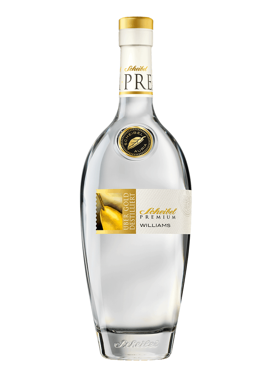 Brennerei Scheibel Premium Williams Christ Birnen Brand 0,70 L. 40%