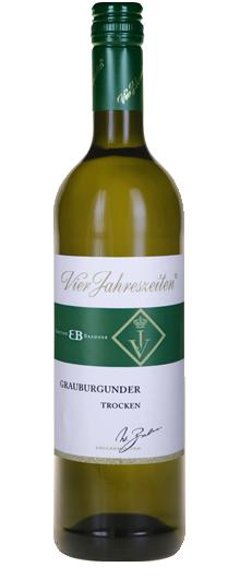 Vier Jahreszeiten Winzer Grauburgunder Trocken 2018