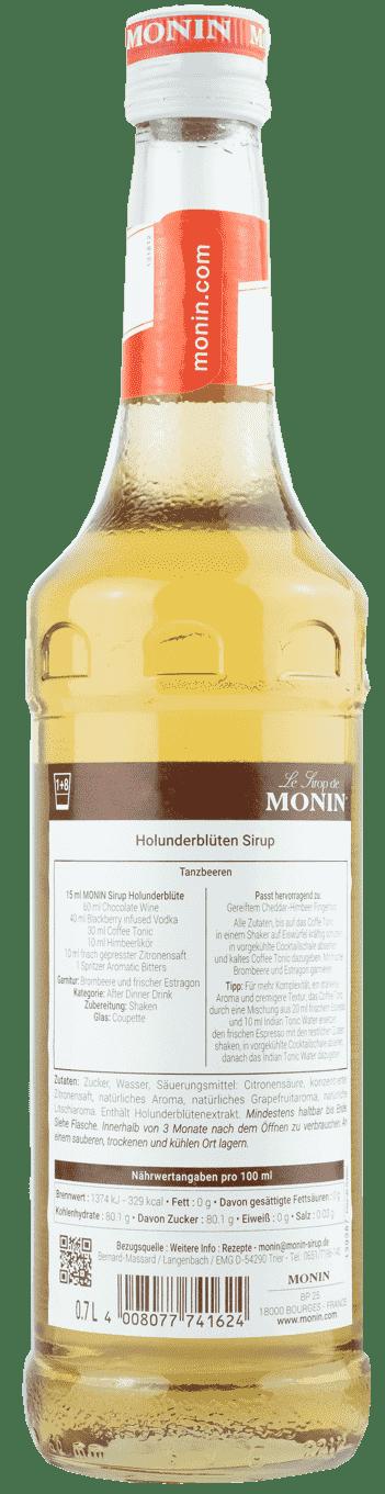 Monin Sirup Holunderblüte 0,7l Holunder