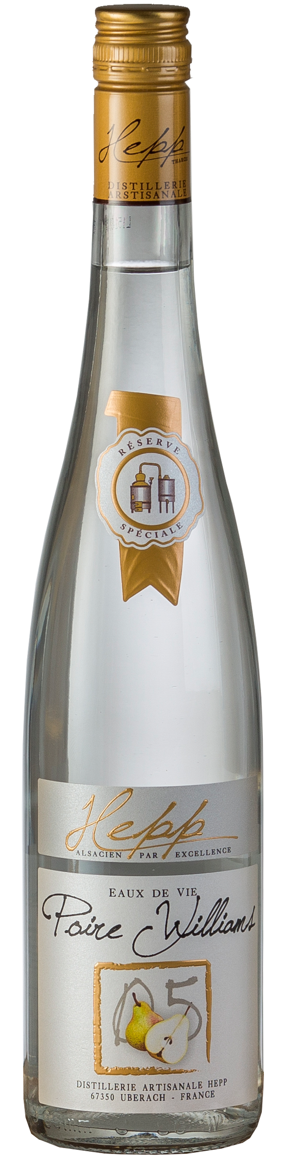 Distillerie Hepp EAU DE VIE Poire Williams Nr. 05 Williams Birne