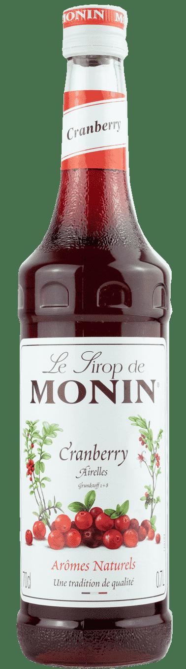 Monin Sirup Cranberry  0,7l Preiselbeere